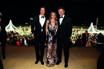 Ivan de Pineda, Veronica Lozano y Ramiro  Otaño.