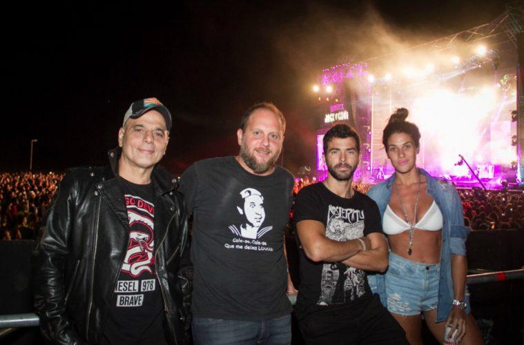 Cayetano, Nazareno Casero e Ivana Nadal en el Isenbeck Rock and Chop