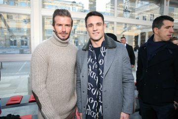 David Beckham y Dan Carter