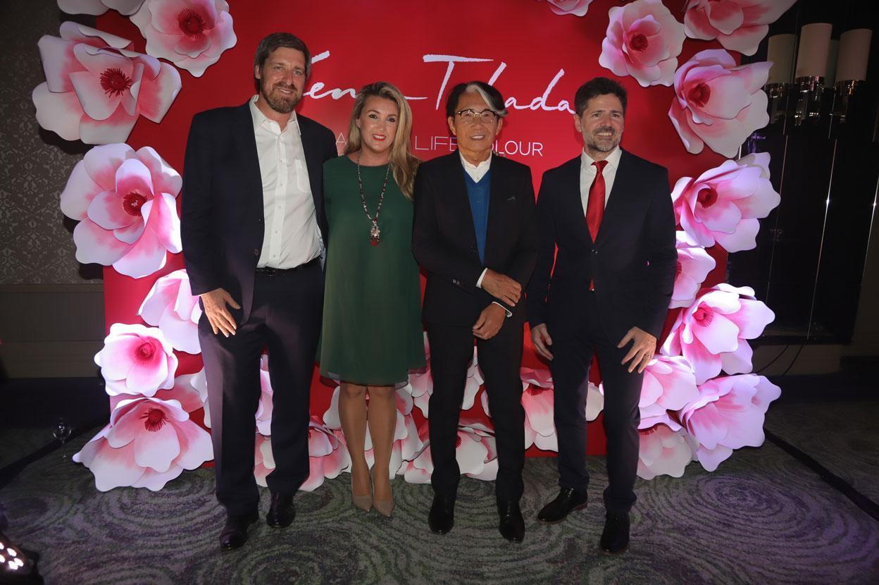 bf578ad8 Axel Gegenschatz (Gerente General Grupo de Mercados Sur Avon), Alina López  Delgado (Gerenta de Marketing Avon), Kenzo Takada y Mario Niccolini  (Director de ...