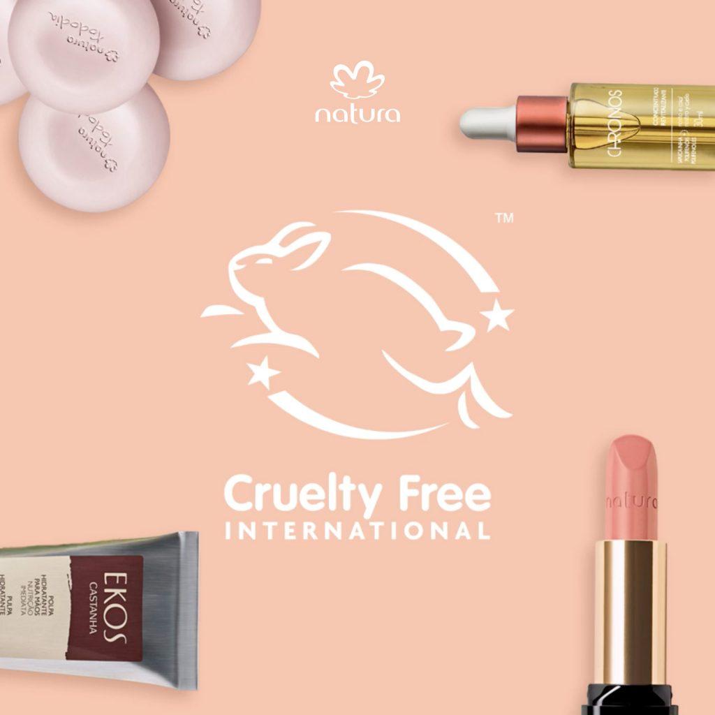 2eca62eff Desde 2006, Natura no realiza pruebas en animales ni para sus ingredientes,  ni para sus productos finales, todo sin poner en peligro los rigurosos ...